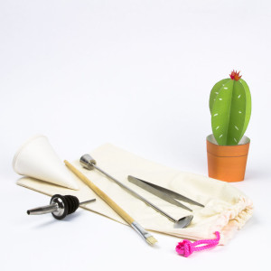 Juicykits Custom Terrarium Tool Kit for Succulent Terrariums
