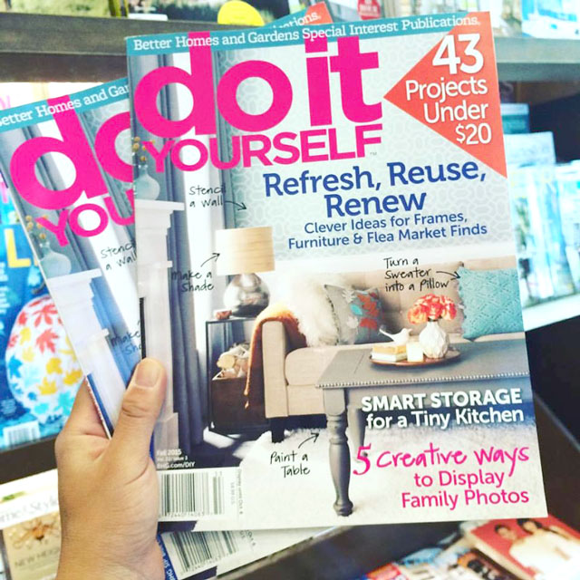 Juicykits in Do-It-Yourself Magazine by Better Homes and Garden