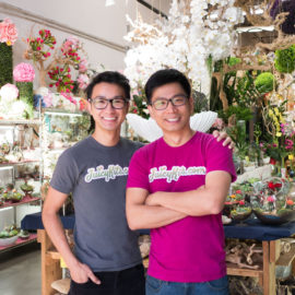 Juicykits.com Owner MoonHee Cho with Founder Bao Vo